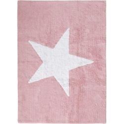 Reduzierte Kinderteppiche Hollywoodstars Benuta Kids Waschbarer Kinderteppich Bambini Star Rosa 120x160 Cm Waschbarer Childrens Rugs Washable Rugs Kids Rugs