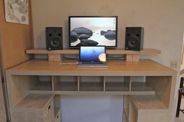 Expedit Standing Desk Ikea Standing Desk Diy Standing Desk Standing Desk Design