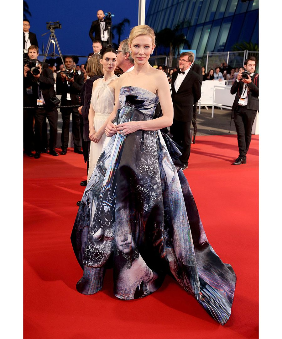 See the chicest looks of the 2015 Cannes Film Festival. Pictured: Cate Blanchett in Giles Deacon.