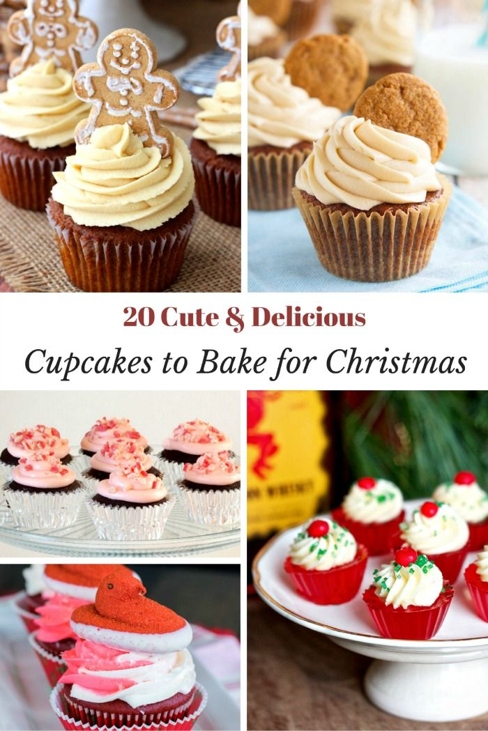 20 Cute And Delicious Holiday Cupcakes Lg Probake Christmas