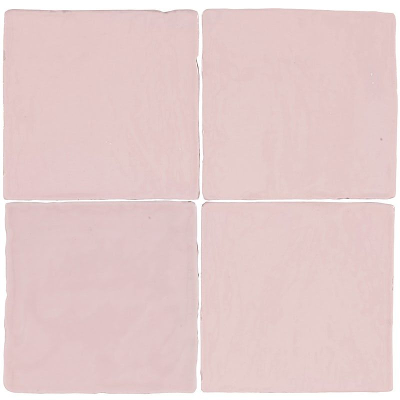 Marseille Pink Mix Gloss Wall Tile 100mm X 100mm In 2020 Wall Tiles Tiles Cheap Bathrooms