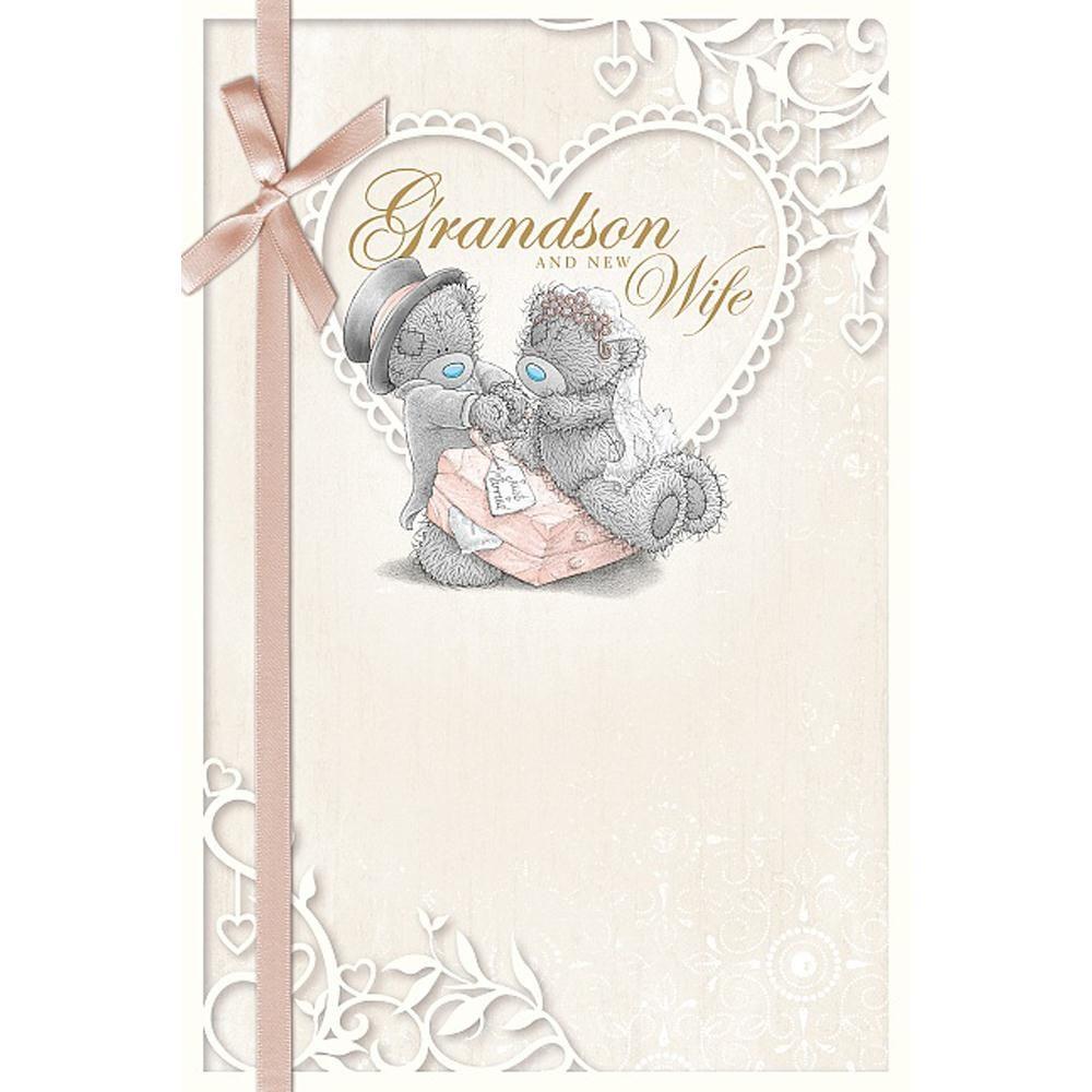 Grandson & New Wife Me to You Bear Wedding Card £2.49 | Teddy bears ...