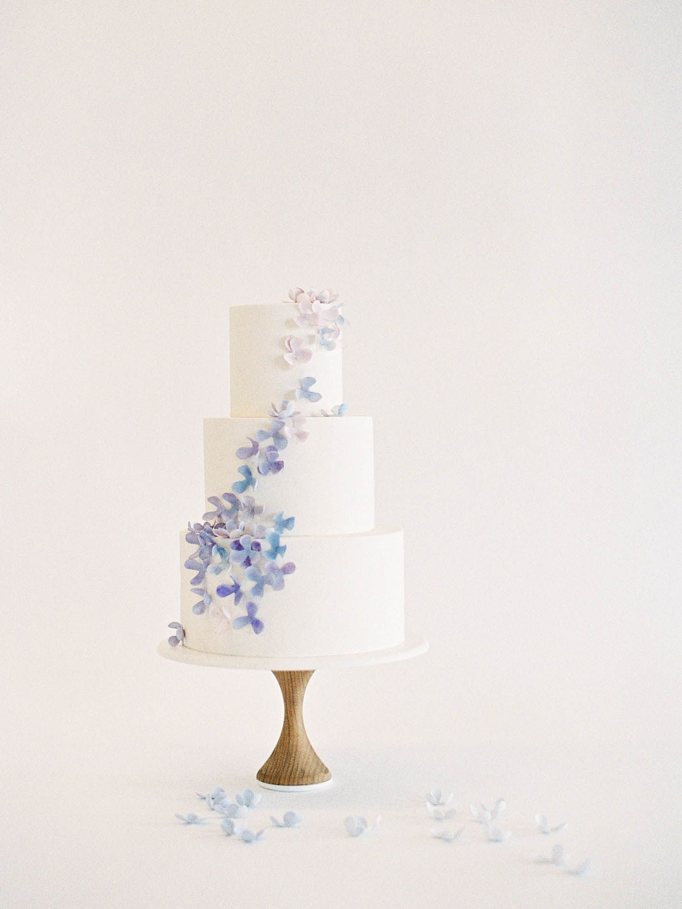 Hydrangea Cake 1 Of 10 Delicate Wedding Cakes By Nine Jen