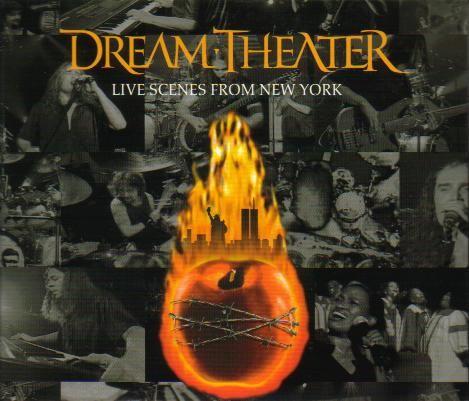 Live Scenes From New York Live Album September 11 2001 Dream Theater Album Covers Album Art