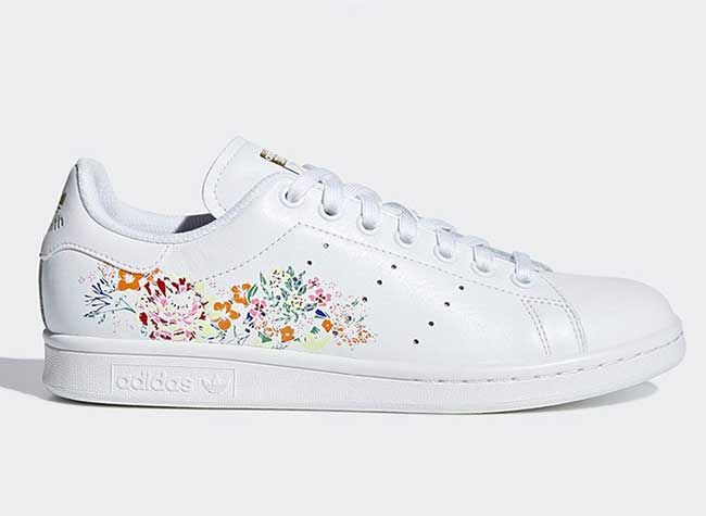 baskets adidas stan smith fleurs brodees | Beautiful ...
