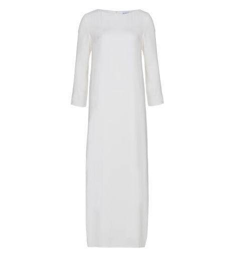 White Long Crepe Dress - £49.99 : Inayah, Islamic Clothing & Fashion, Abayas, Jilbabs, Hijabs, Jalabiyas & Hijab Pins