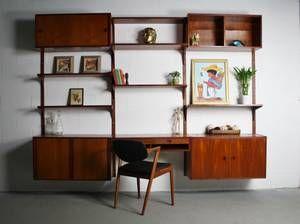 New York Furniture Mid Century Desk Craigslist Mid Century Modern Decor Modular Walls Modern Wall Units