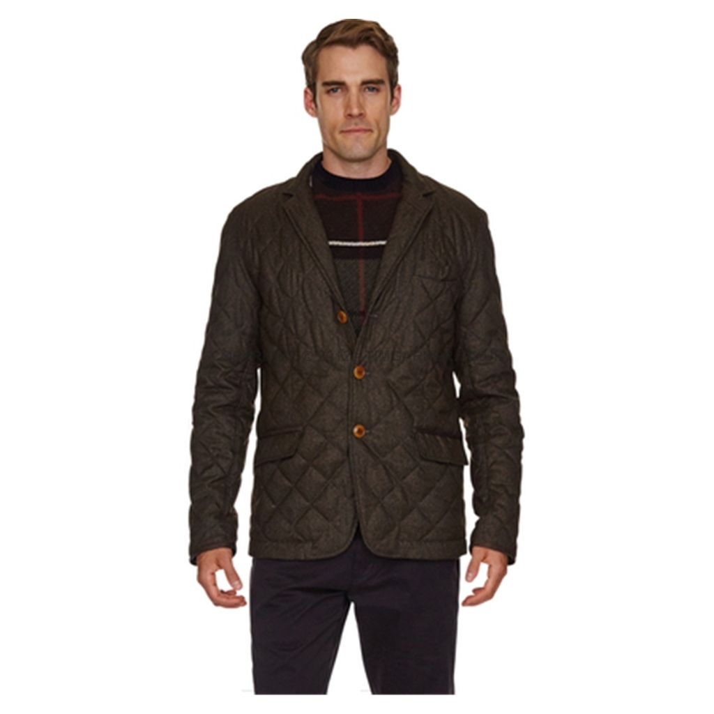 fb68479c180d Barbour - New Autumn 2014 Barbour Riber Quilted Jacket - Brown. Find this  Pin and more on Barbour Mens ...
