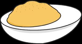 Deviled Egg Clip Art - Deviled Egg Image | Eggs image ... (269 x 145 Pixel)
