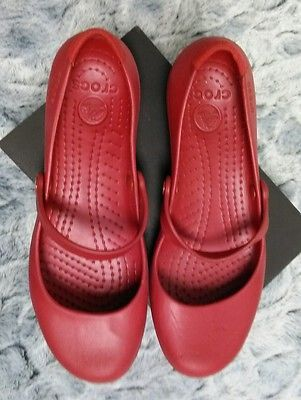 outlet eastbay buy cheap latest collections Crocs Red Ballerinas XCH1bchUa9