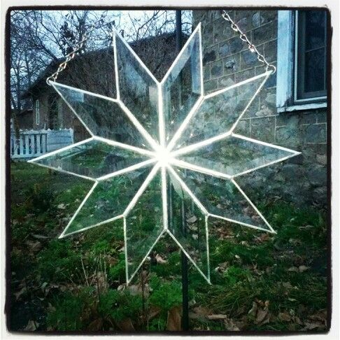 Starburst-stained glass