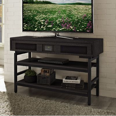 Turnkey Llc Soho 48 Tv Stand With Built In Surround Sound Finish