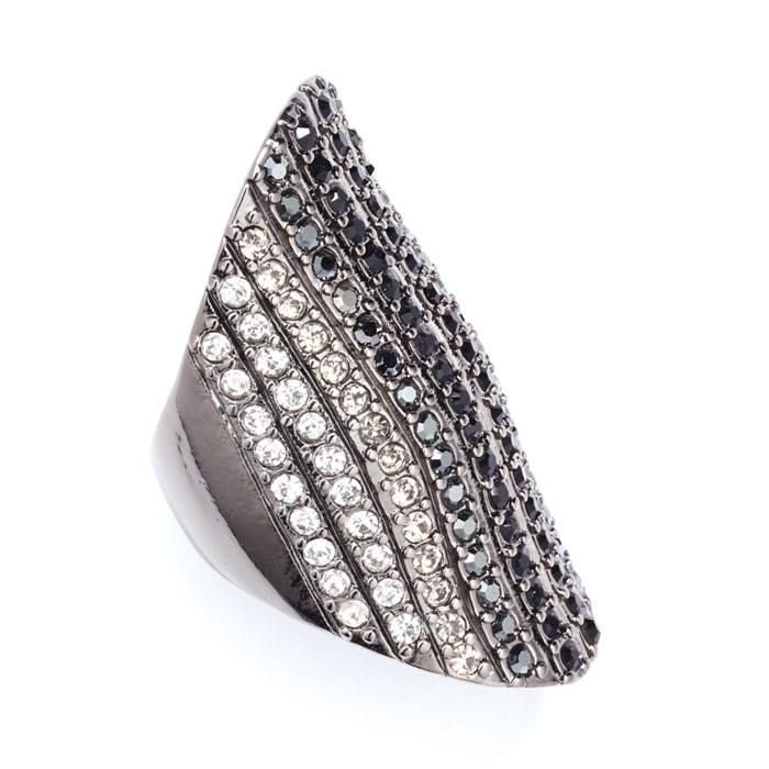 You'll line up tons of amazing holiday looks with this party-perfect ring and its row after row of shimmering clear, smoky, hematite-colored and black rhinestones. Buy online www.youravon.com/dawnmsmith