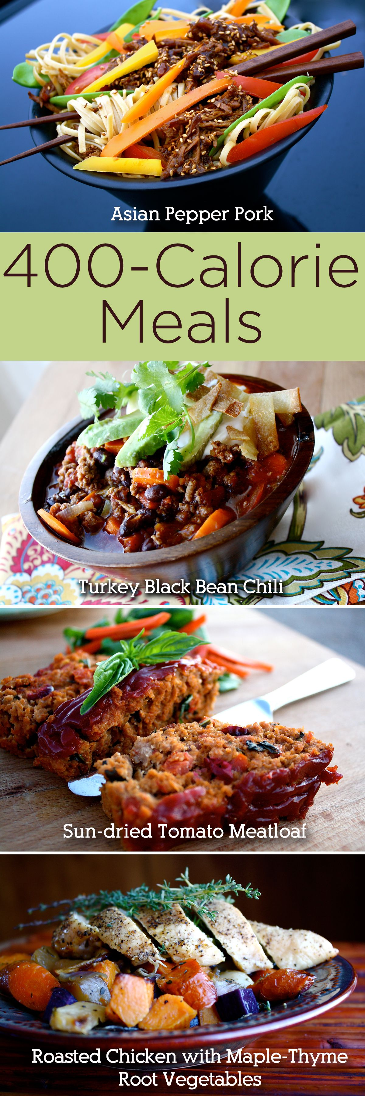 400-Calorie Meals That Actually Taste Good