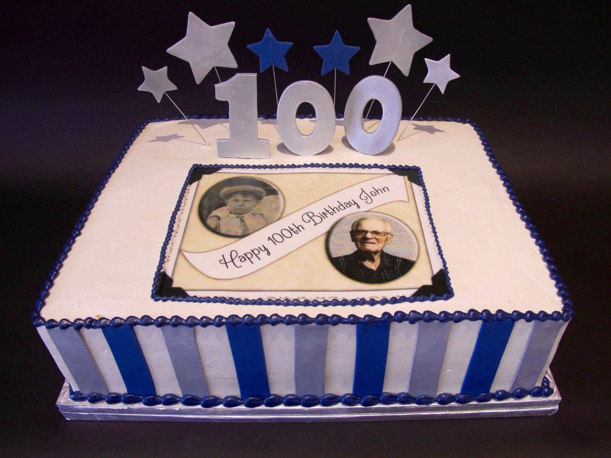 100th Birthday Cake 300352