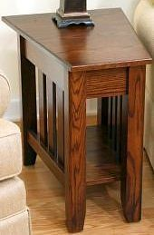 wedge end tables wedge end table
