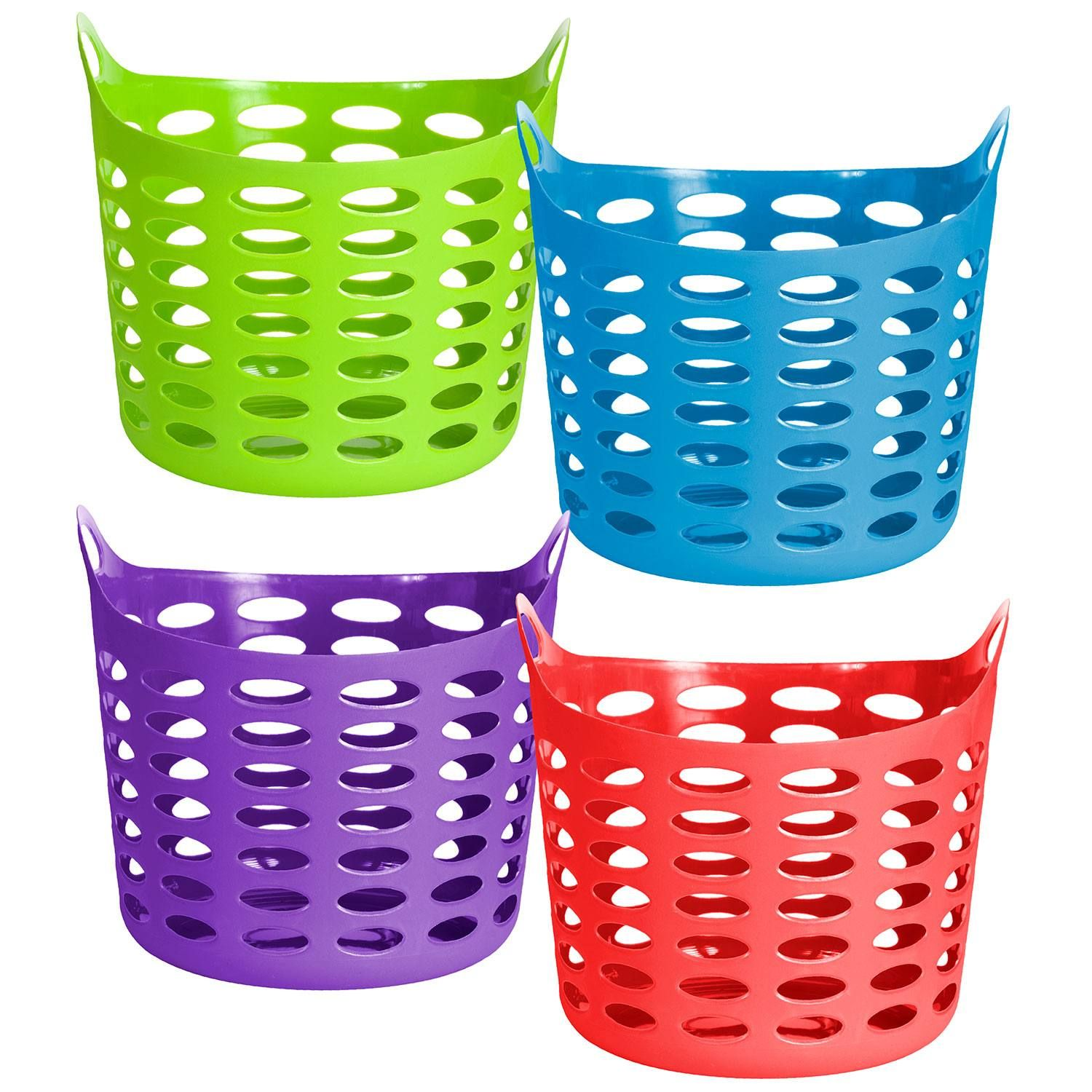 Option For Colorful Baskets For Ring The Basket Activity Station