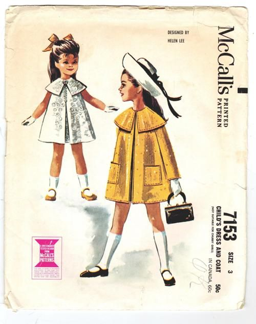 McCall\'s 7153 | Vintage Sewing Patterns | Pinterest