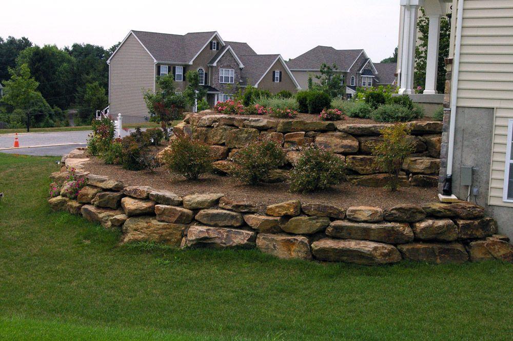 Limestone Landscape Rock For You Garden Landscape Designs For Your Home Landscape Rock Garden Landscape Design Landscape Design