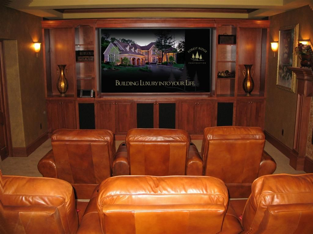 Superior Images About Media Rooms On Pinterest Basement Ideas Small Home Theaters  And Small Rooms Part 22