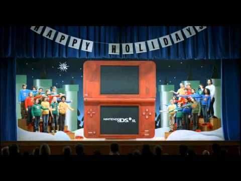 Nintendo DSi XL Holiday Official Commercial [HD] | Best