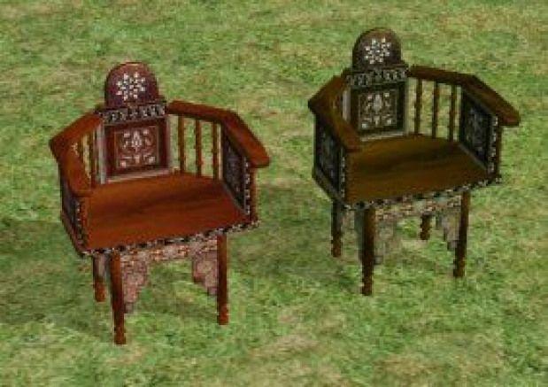 moroccan kingchair