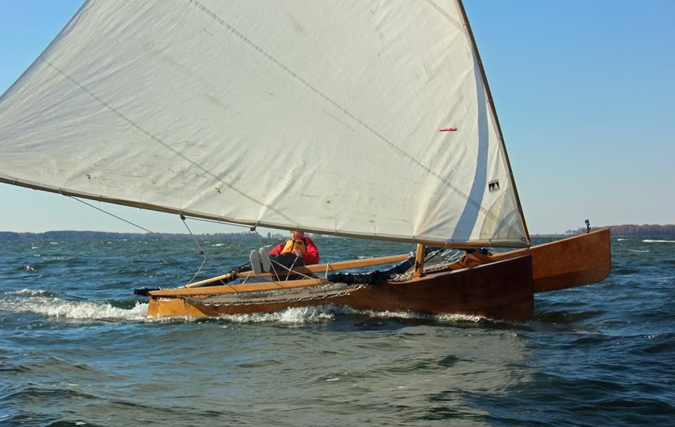 Outrigger Junior Outrigger canoe, Wooden sailboat, Boat