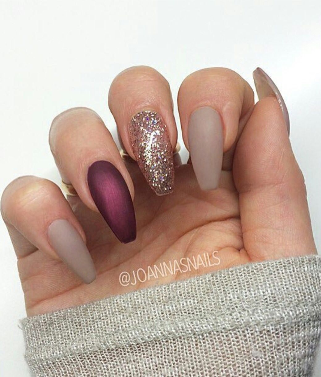 35 Inspirational Winter Nails Designs For 2019 Wzory Zelowe