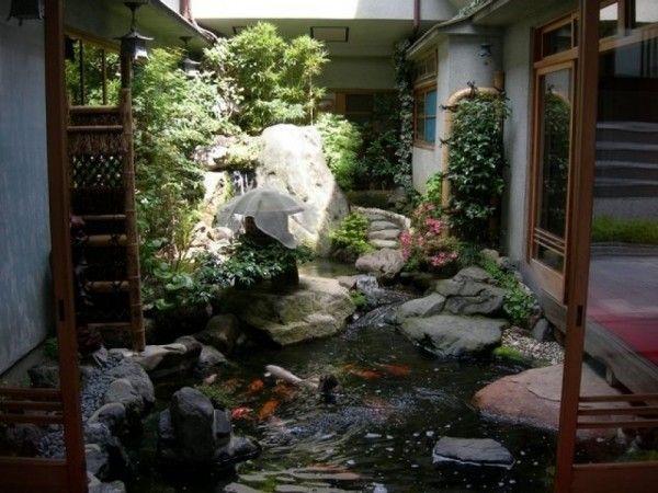 Indoor Ponds In The Home Indoor Water Garden Japanese Garden