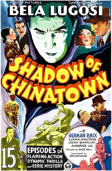 Shadow Of Chinatown - 1936 - Movie Poster