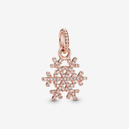 Sparkling Snowflake Hanger, Sieraden, Cubic Zirconia, Clear, 380354CZ #hangersnowflake