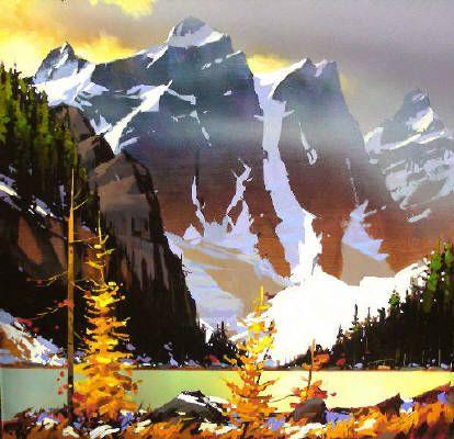 Michael O'Toole - 4 of 10 Peaks - Morraine Lake