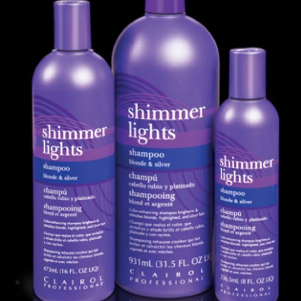 Shimmer Lights for blonde hair. Sold at Sallys. Great product!