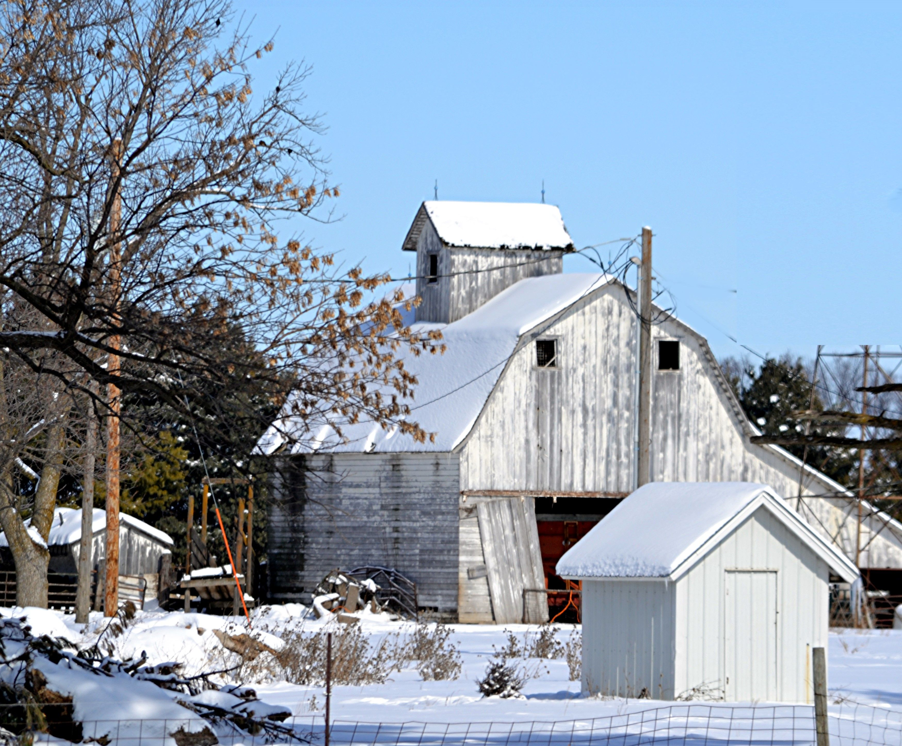 Johnson County Ia Near Iowa Mennonite School Kalona With Images Farm Buildings Country Barns Rustic Barn