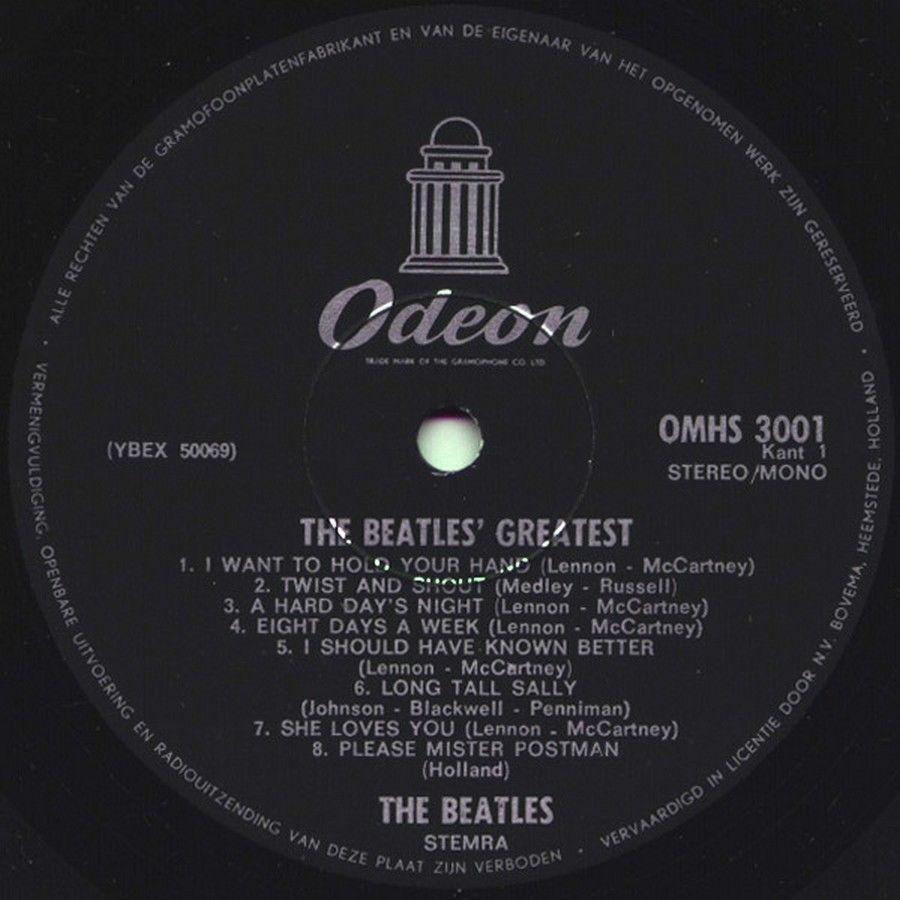 Beatles, The - Beatles  Greatest NL 1975 LP Vinyl