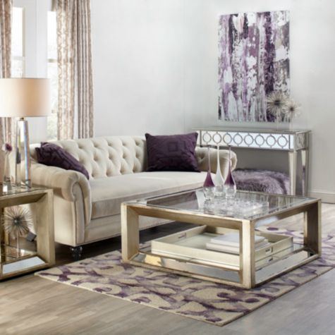 Pascual Coffee Table From Z Gallerie Elegant Living Room Decor