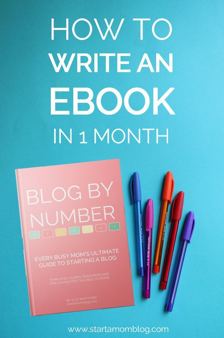 Learn how to write an ebook in 1 month as a busy mom. You can do this! You can create an awesome ebook and sell it online to make money. You're smart, share those talents!!