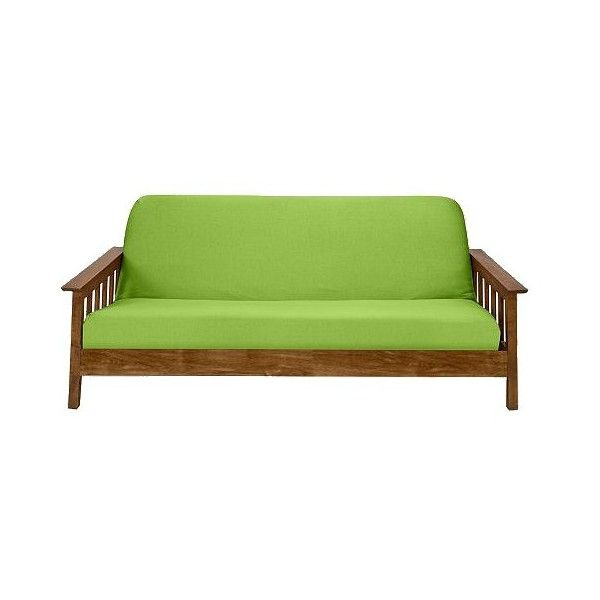 Lime 110 Ils Liked On Polyvore Featuring Futon Cover Green Home
