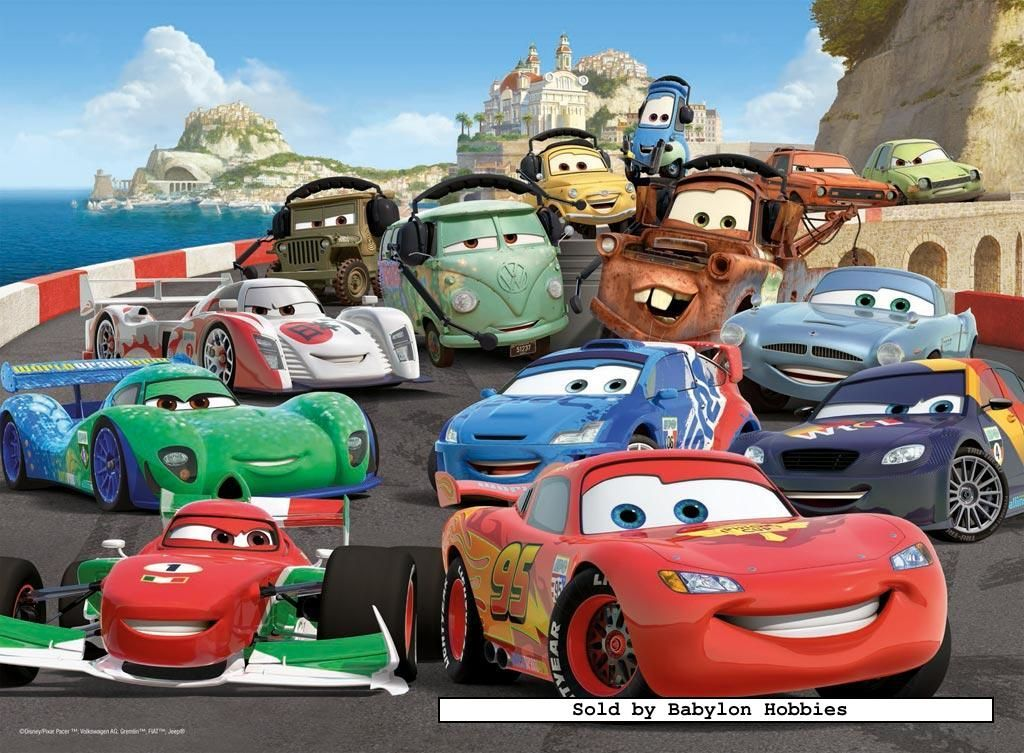 100 Pcs Jigsaw Puzzle Disney Cars 2 Disney Cars Xxl Ravensburger 106158 Imagenes De Cars Temas De Baby Shower De Nino Cars Pelicula