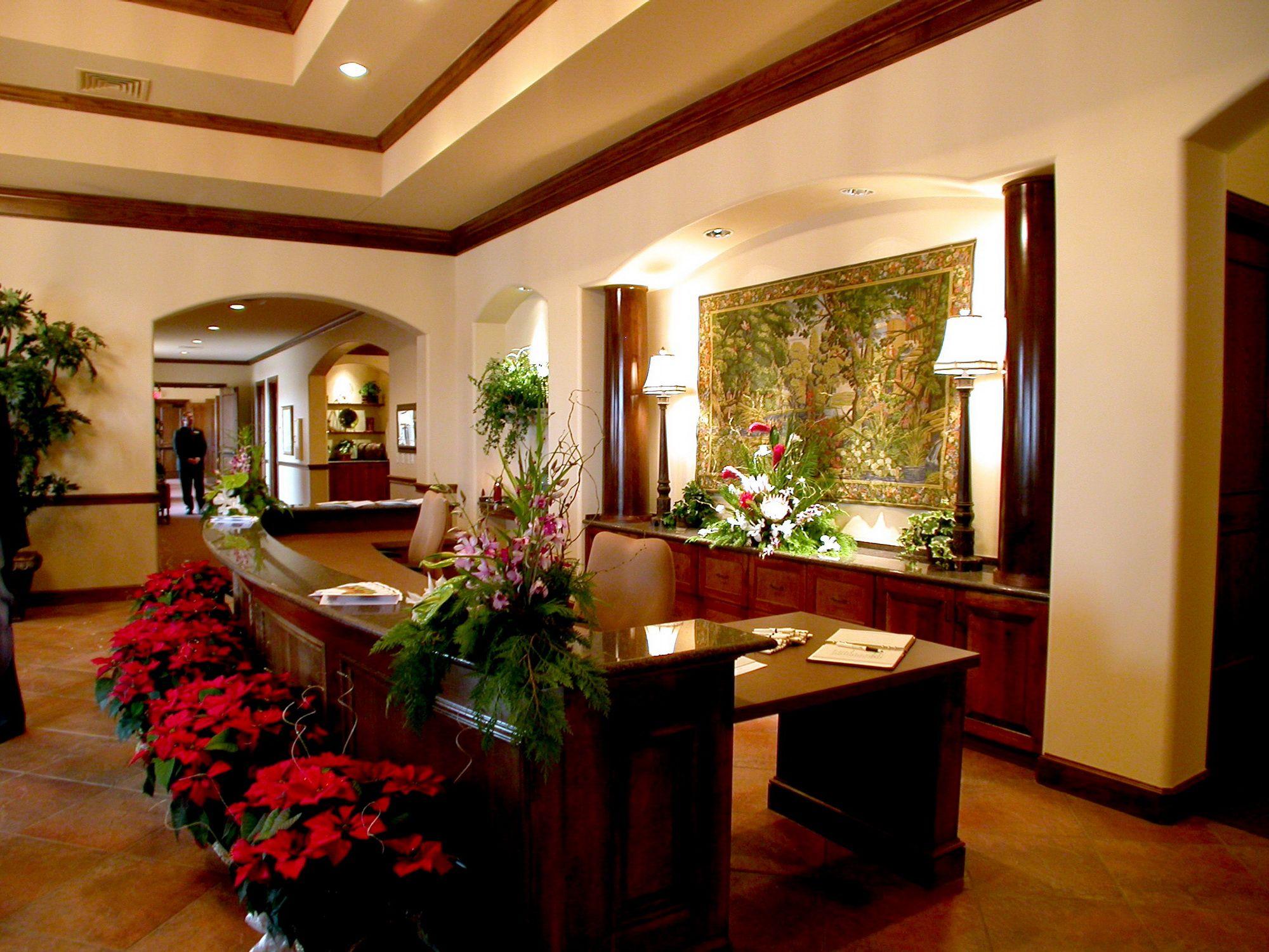 Jst Funeral Home Design Reception Merchandise Room Interior