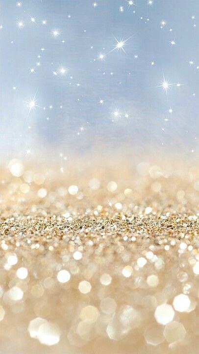 Falling Gold Sparkles Glitter Wallpaper Iphone 5 Wallpaper