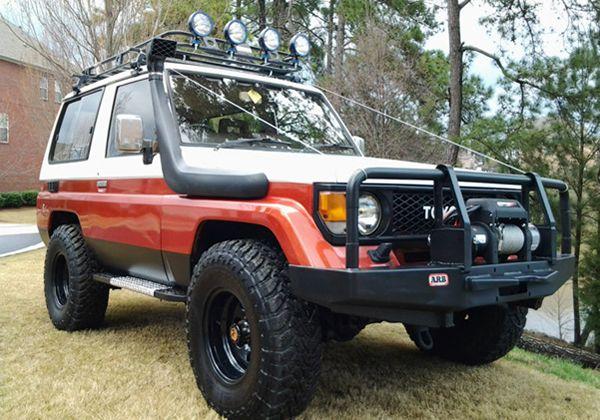 For Sale 1987 Toyota Lj71 Turbo Diesel Land Cruiser Grab A Wrench Land Cruiser Cruisers Toyota