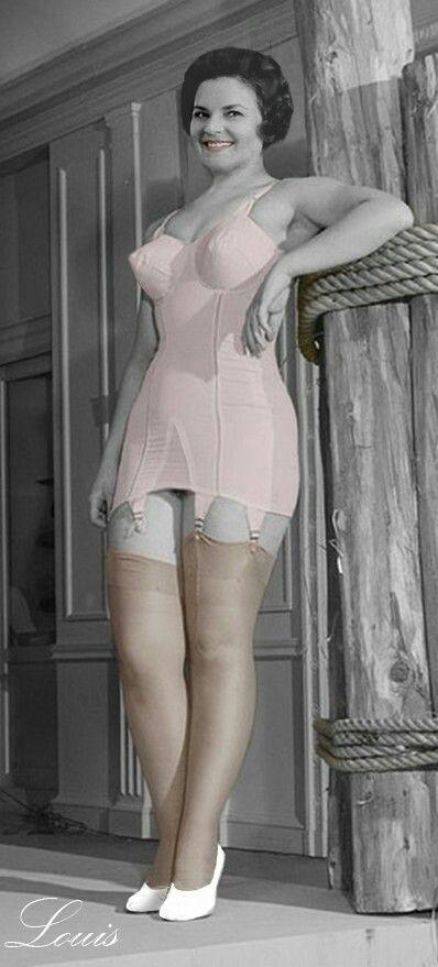 Sarah Mcdonald Corset And Stockings