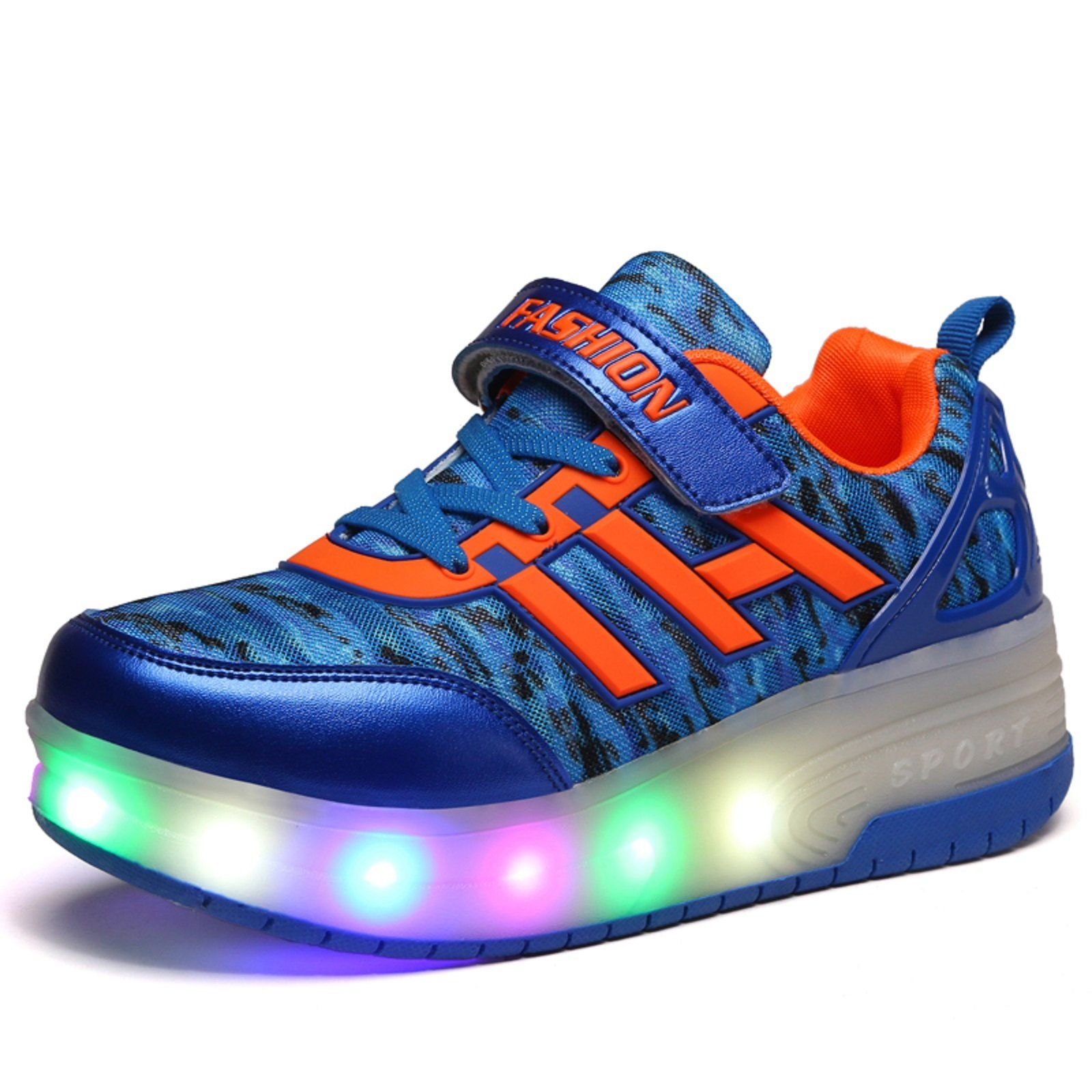 Pop out roller skate shoes -