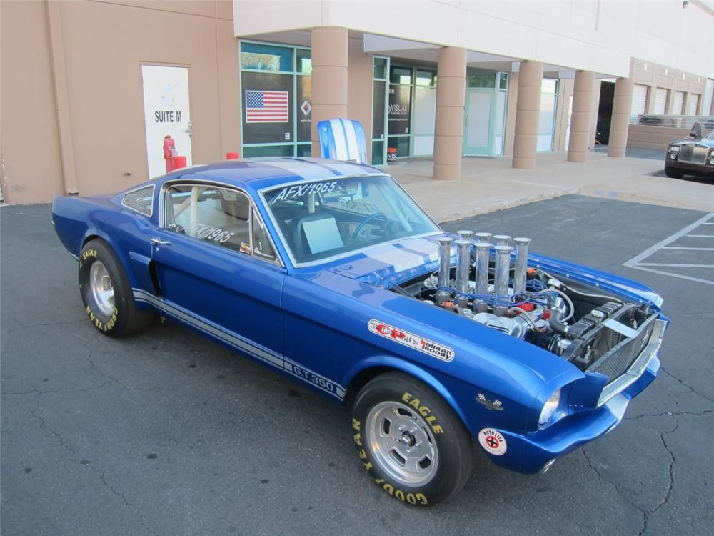 1965 Mustang 427 Sohc Drag Car Built In 65 To Race Division 5