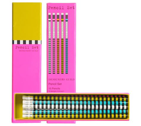 dg pencil set from tricia guild of designers guild.