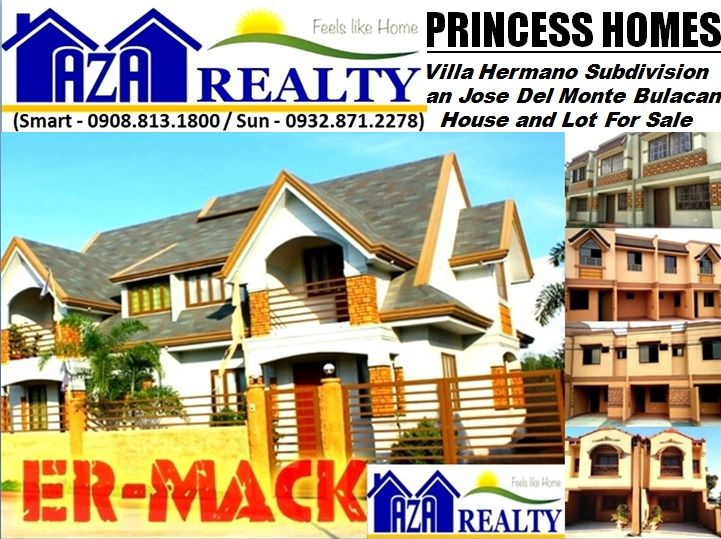 Er Mack Model Princess Homes Villa Hermano Subdivision San Jose Del Monte City Bulacan
