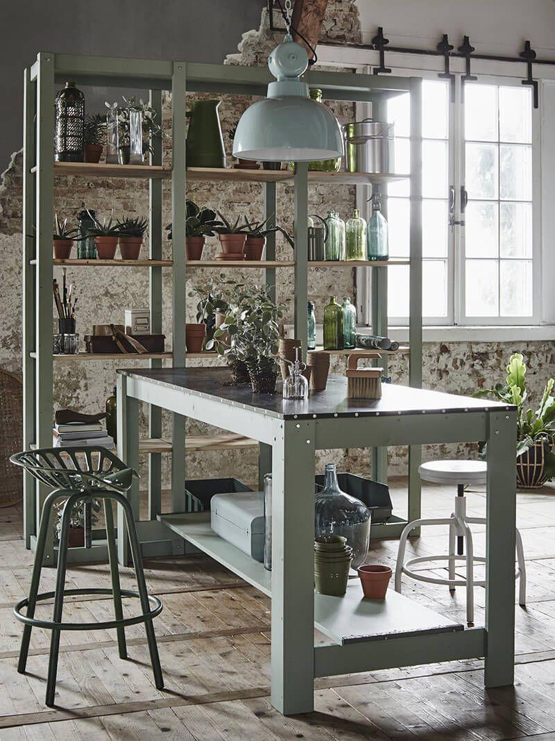 Inspiration une d co d 39 int rieur verdoyante art place for Rivista interni