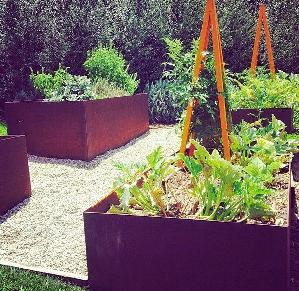 French Kitchen Garden: Vegetable, Herb And Kitchen Gardens Are Patterned After