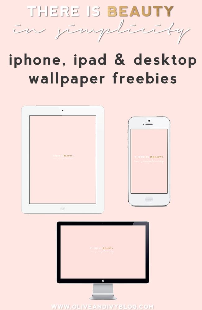 Desktop Iphone Ipad Wallpaper Freebie Ipad Wallpaper Pink Wallpaper Desktop Blush Pink Wallpaper